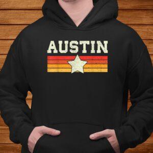 austin texas t shirt retro vintage shirt gift men women kids t shirt Men 4