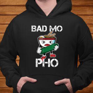 bad mo pho print funny vietnamese food pun t shirt Men 4