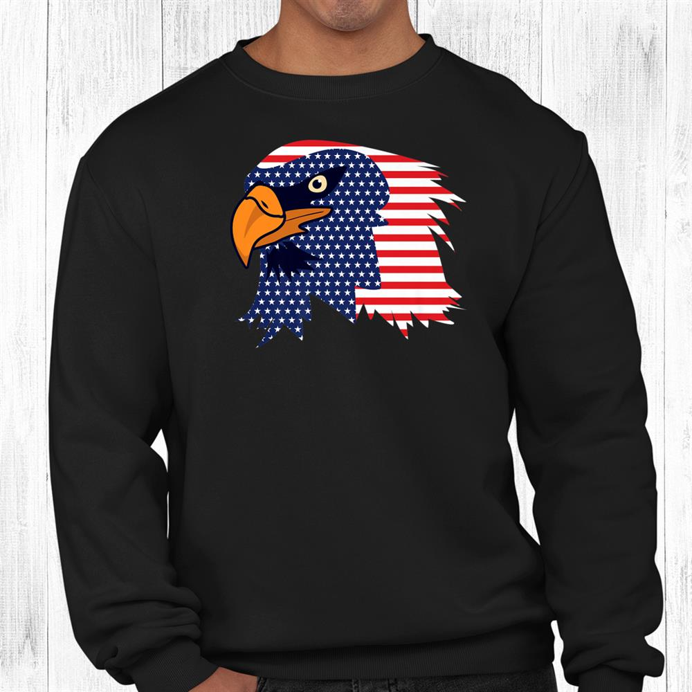 Bald Eagleth Of July Shirt American Patriotic Freedom Shirt