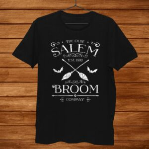 Basic Witch Salem Broom Company Halloween Witches Spell Shirt