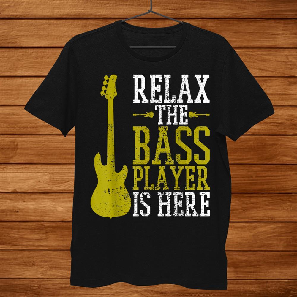 Bass Player Guitar Guitarist Metal Music School Vintage Shirt
