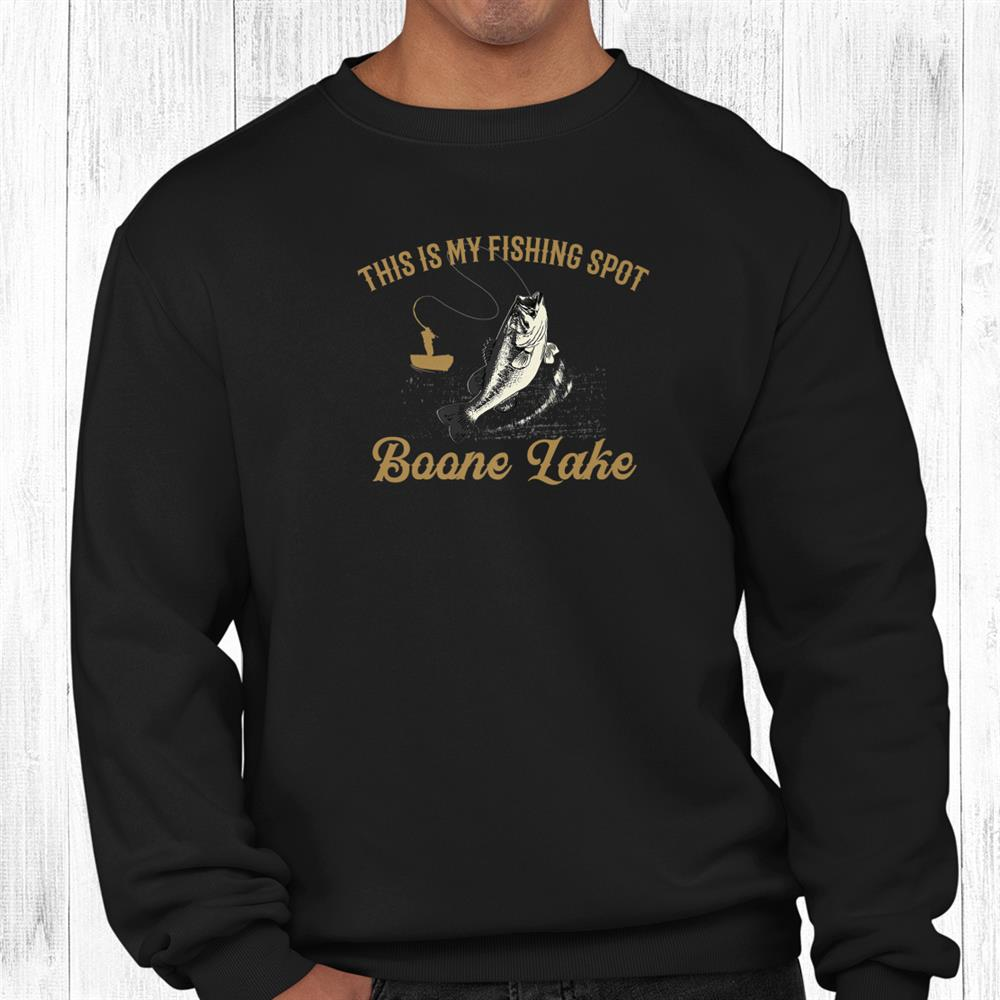 Beer And Fishing Is My Kind Of Thing Boone Lake Drinking Shirt