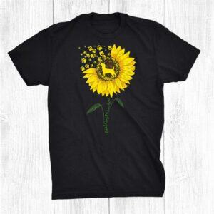 Best Jack Russell Terrier Dog Mom Ever Pet Puppy Sunflower Shirt