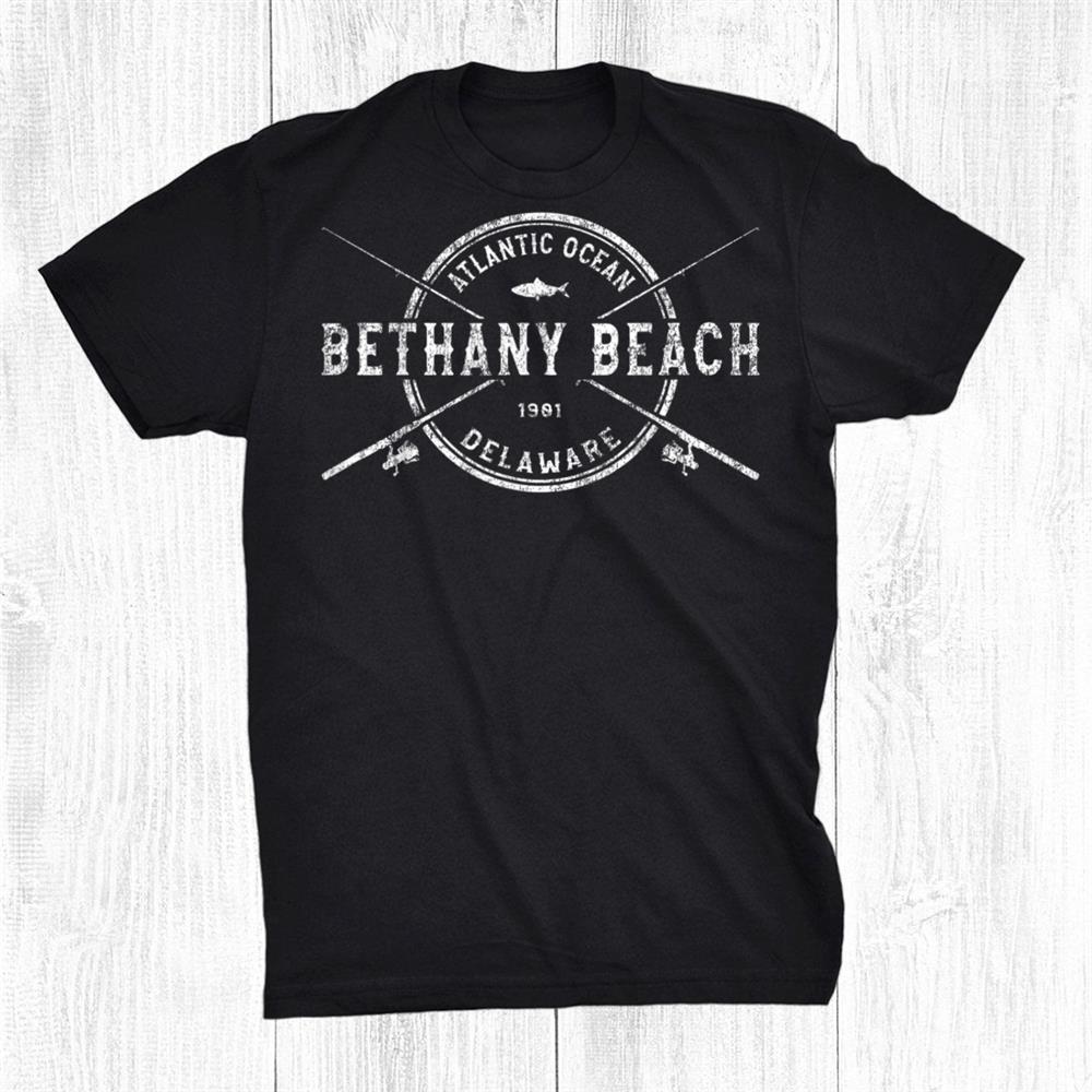Bethany Beach Vintage Fishing Shirt