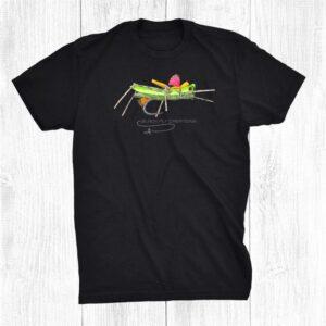 Black Fly Hopper Foam Chubby Dry Flies Fly Fishing Gear Shirt