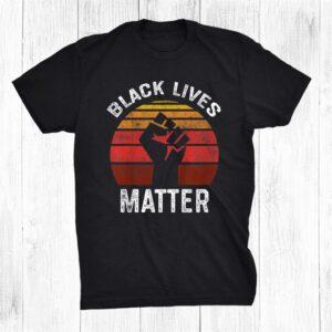 Black Lives Matter Blm Retro Shirt