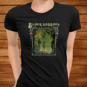 black sabbath official trees photo framed t shirt Men 3