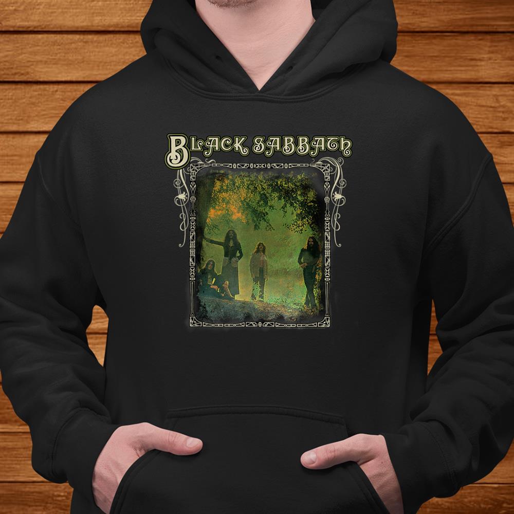 Black Sabbath Official Trees Photo Framed Shirt