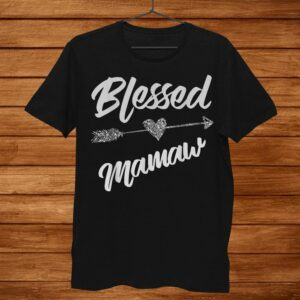 Blessed Mamaw Thanksgiving Shirt Funny Motherand & Wife Shirt