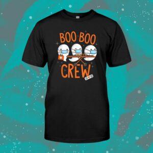 Boo Boo Crew Ghost Doctor Paramedic Nurse Halloween Shirt
