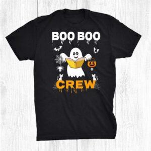 Boo Boo Crew Halloween Ghost Funny Costume Halloween Shirt