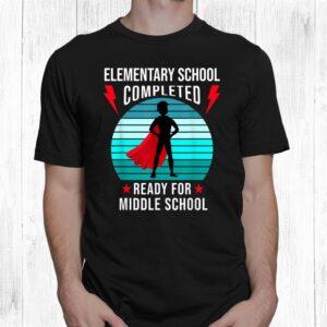 boy elementary school graduation 2021 ready for junior high shirt 1 2