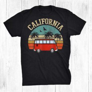 California Hippie Van Outfit Surf Ca Tee Vintage Surfer Shirt