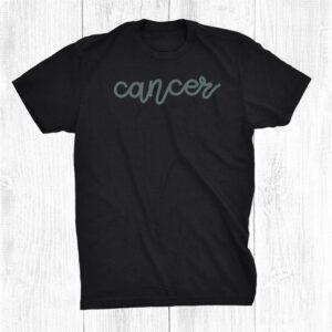 Cancer Boho Vibes Shirt