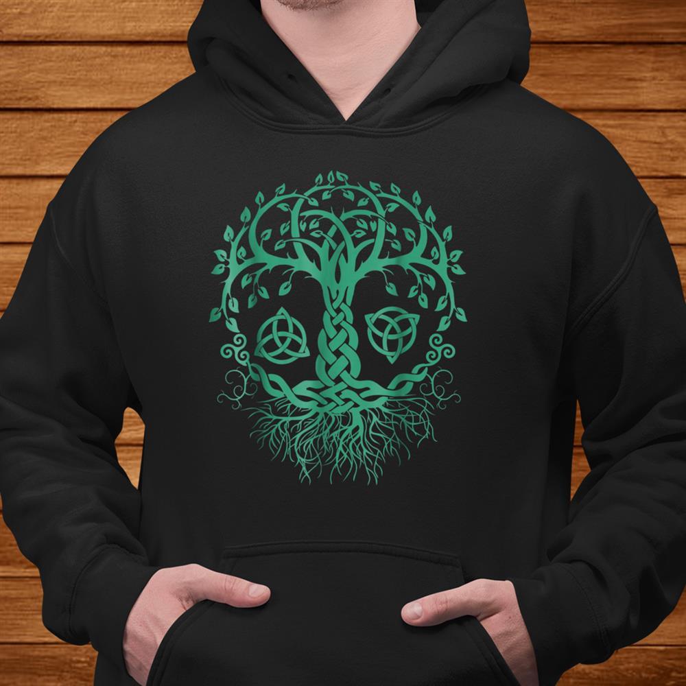 Celtic Knot Tree Of Life Shirt Tree Of Life Viking Shirt