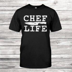 Chef Cook Cooking Kitchen Restaurant Hotel Vintage Shirt