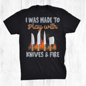Chef Funny Shirt Knives Play Cooking Lovers Funny Shirt