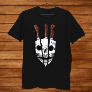 Chef Knife Culinary Bbq Chef Skull Butcher Culinary School Shirt