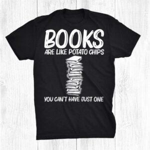 Cool Book Art Bookworm Bookish Reader Reading Shirt