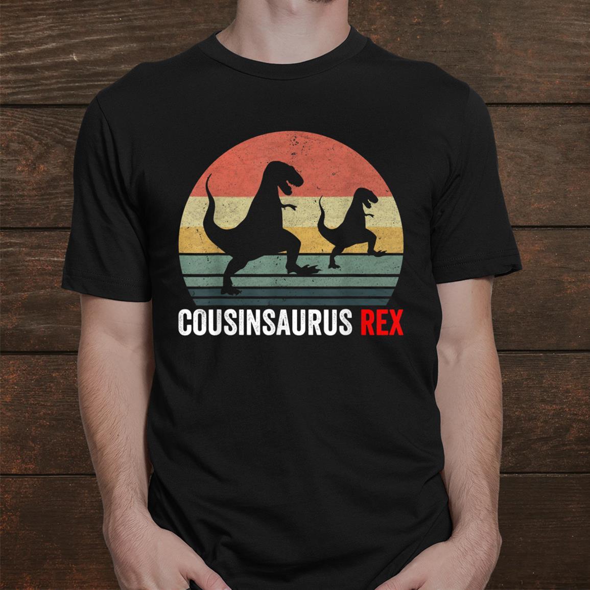 Cousinsaurus Rex Dinosaur Shirts For Grandpa Shirt