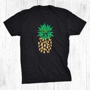Cute Pembroke Welsh Corgi Dogs Pineapple Shirt