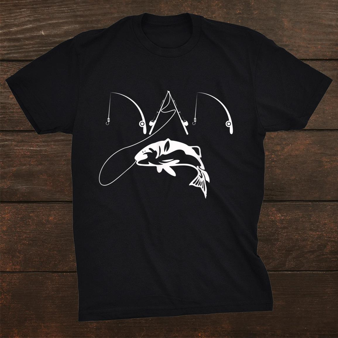 Dad Fishing Fisherman Daddy Shirt