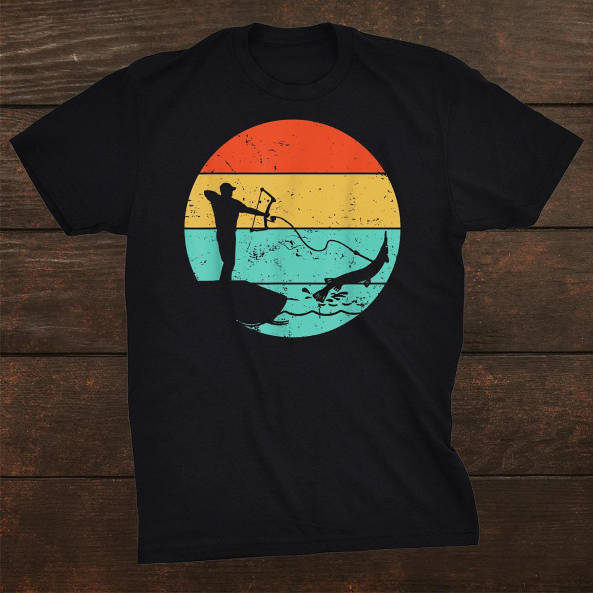 Dad The Bowfishing Shirt