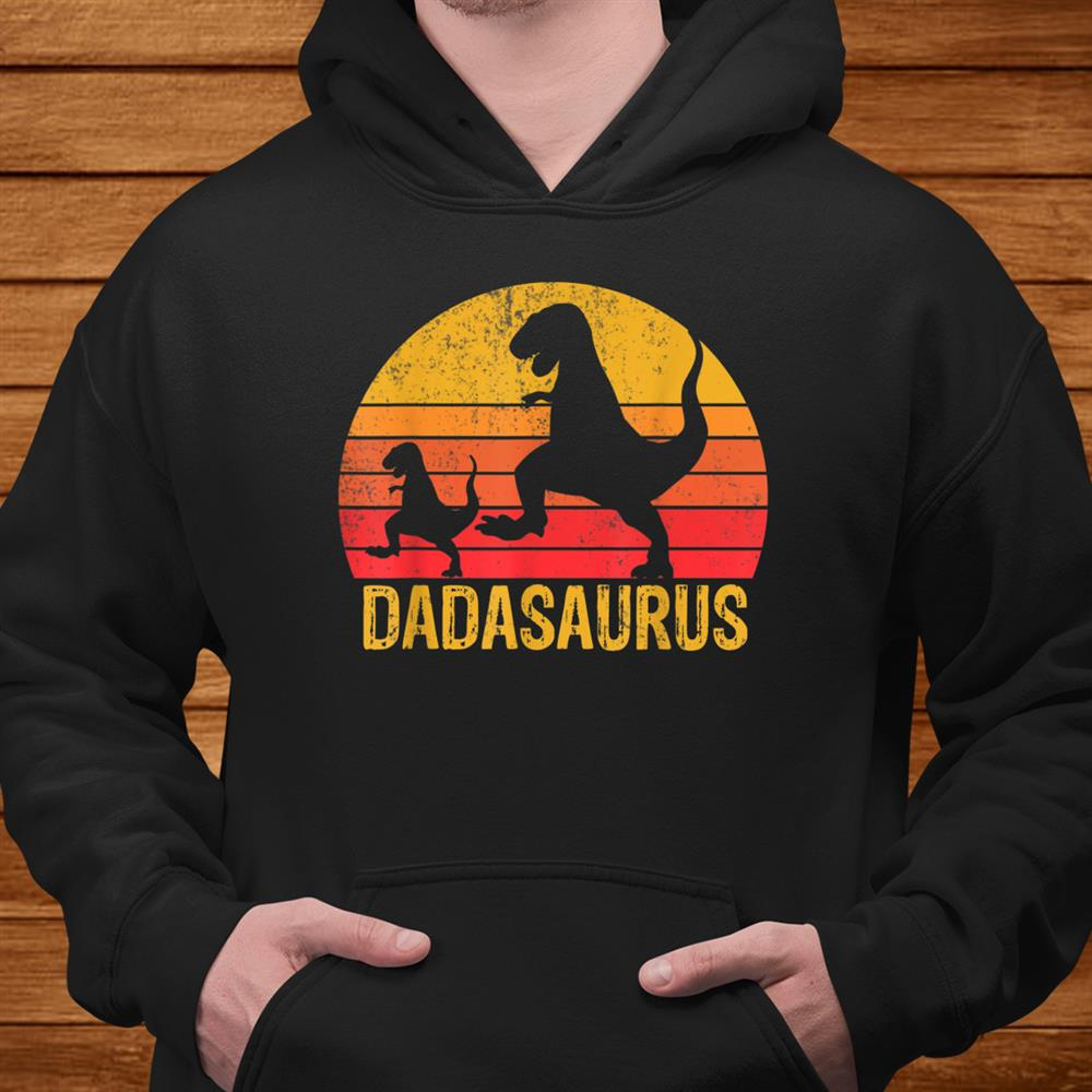 Dadasaurus And Babysaurus Funny Dinosaur Shirt