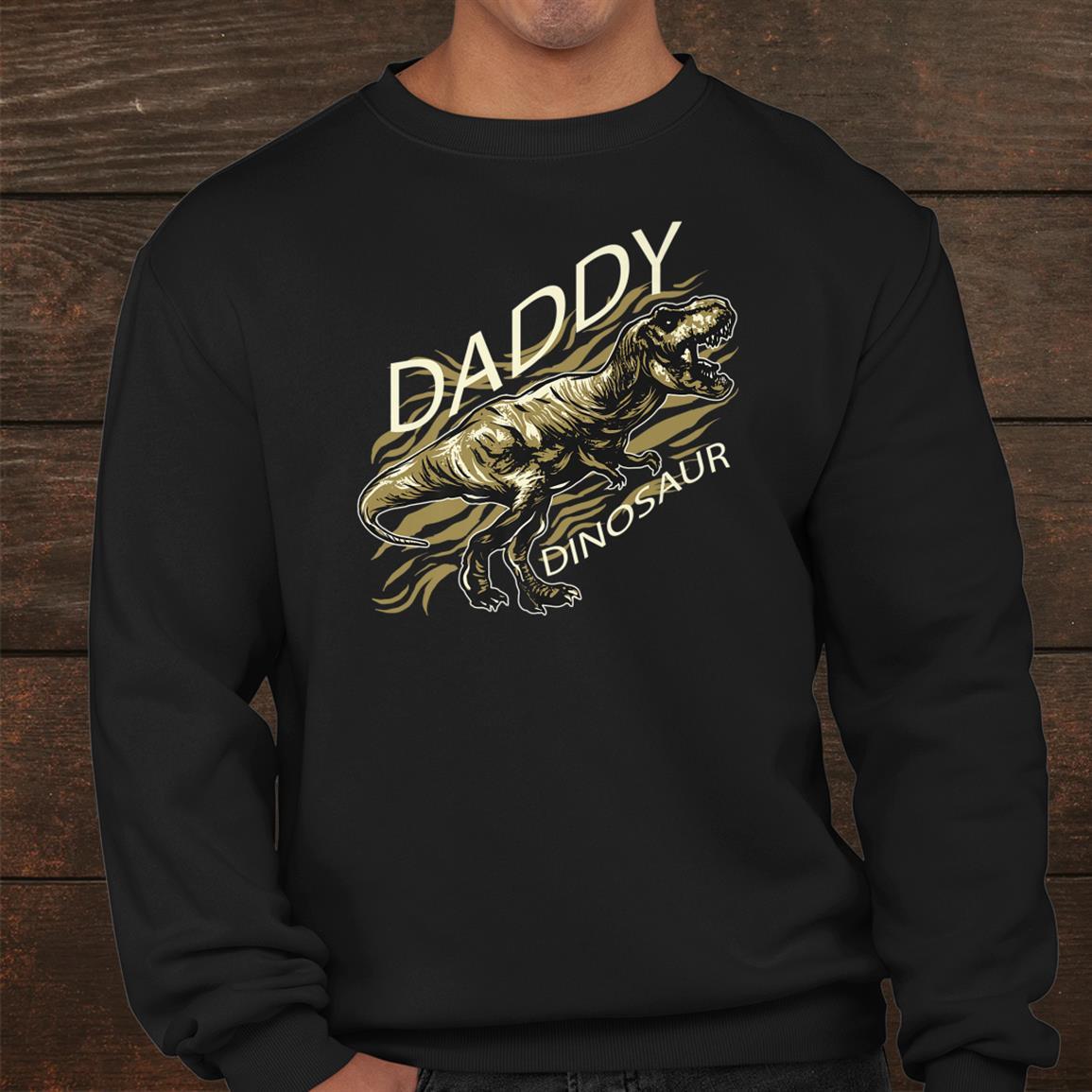 Daddy Dinosaur Funny Shirt