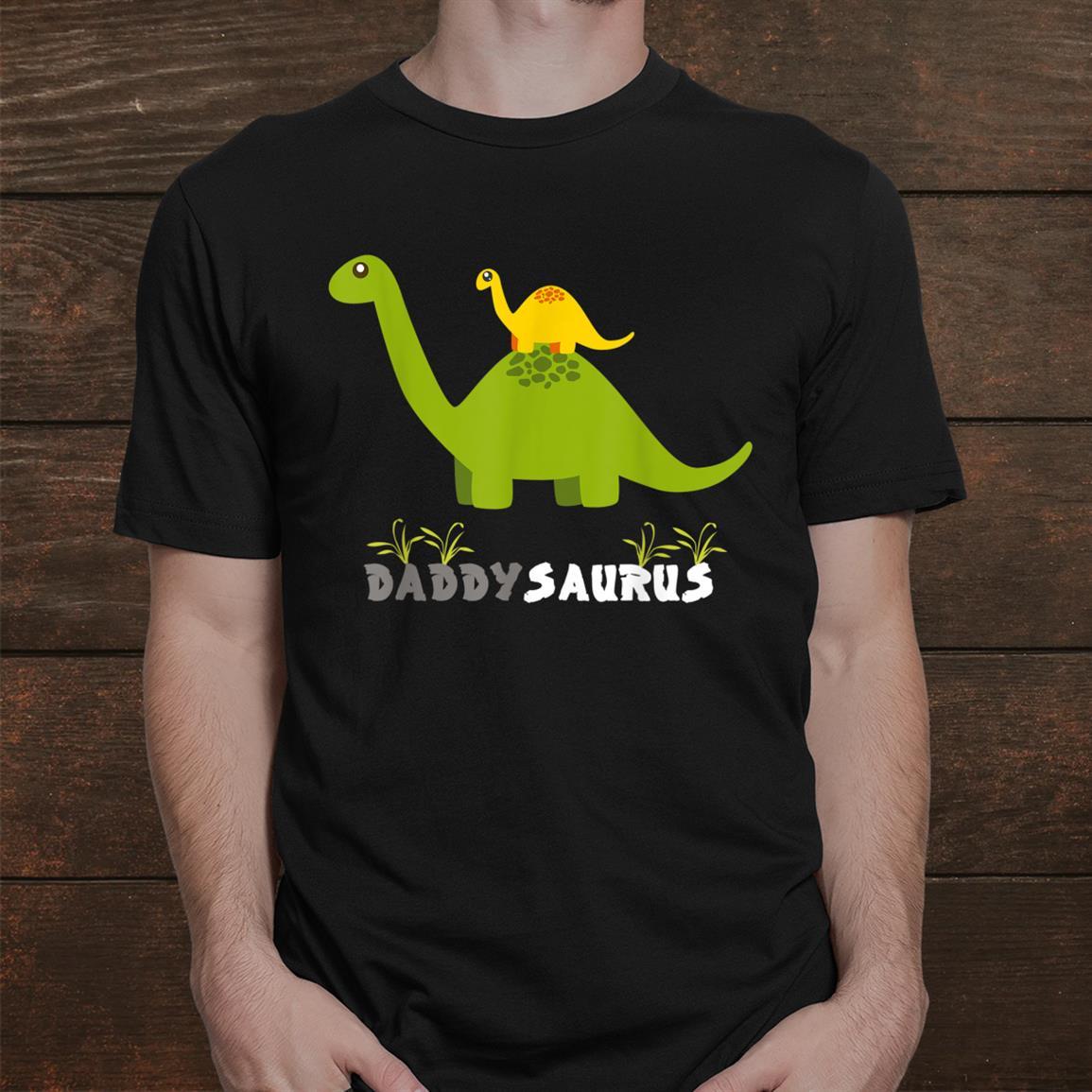 Daddysaurus Shirt Funny Father Dinosaur Daddy Saurus Shirt