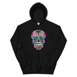 Day Dead Shirt Sugar Skull Hoodie Halloween Hoody Hoodie