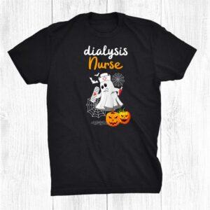 Dialysis Nurse Hemodialysis Halloween For Nurses Shirt