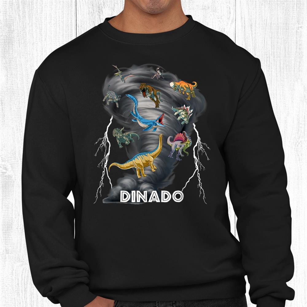 Dinado Dinosaur Tornado Shirt