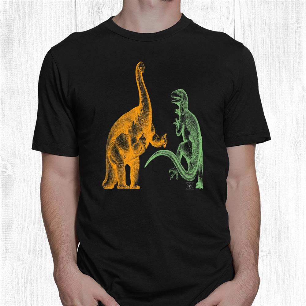 Dinosaur Fight Night Shirt