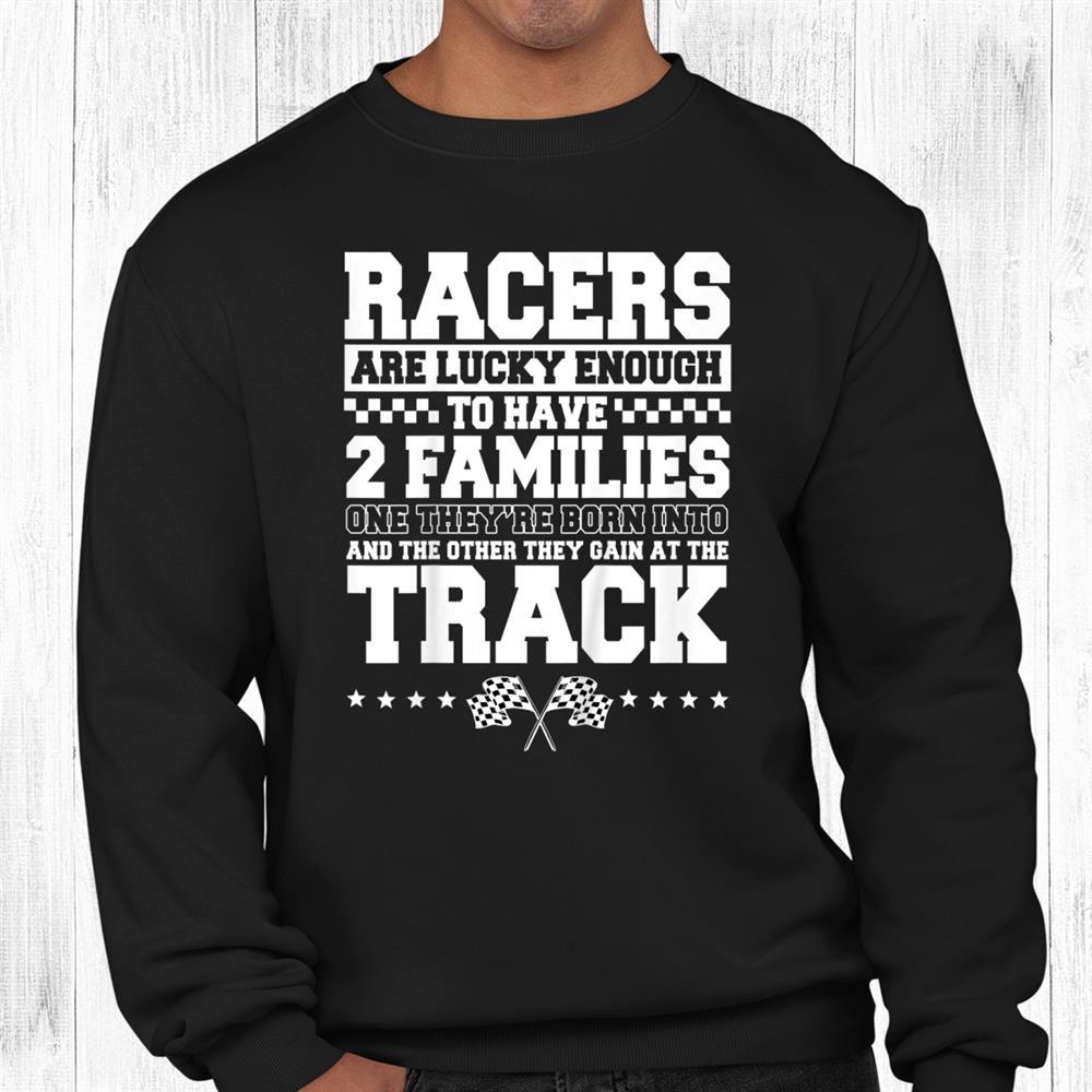 Dirt Track Racing Automobile Race Bike Car Racers Motocross Shirt