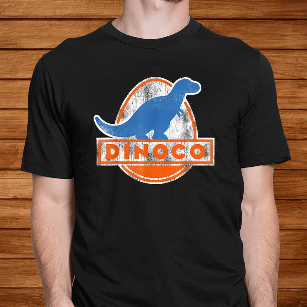 Disney Pixar Cars Iconic Dinoco Dinosaur Logo Shirt