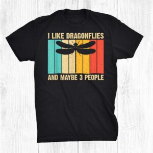 Dragonfly Design Dragonfly Lovers Funny Shirt