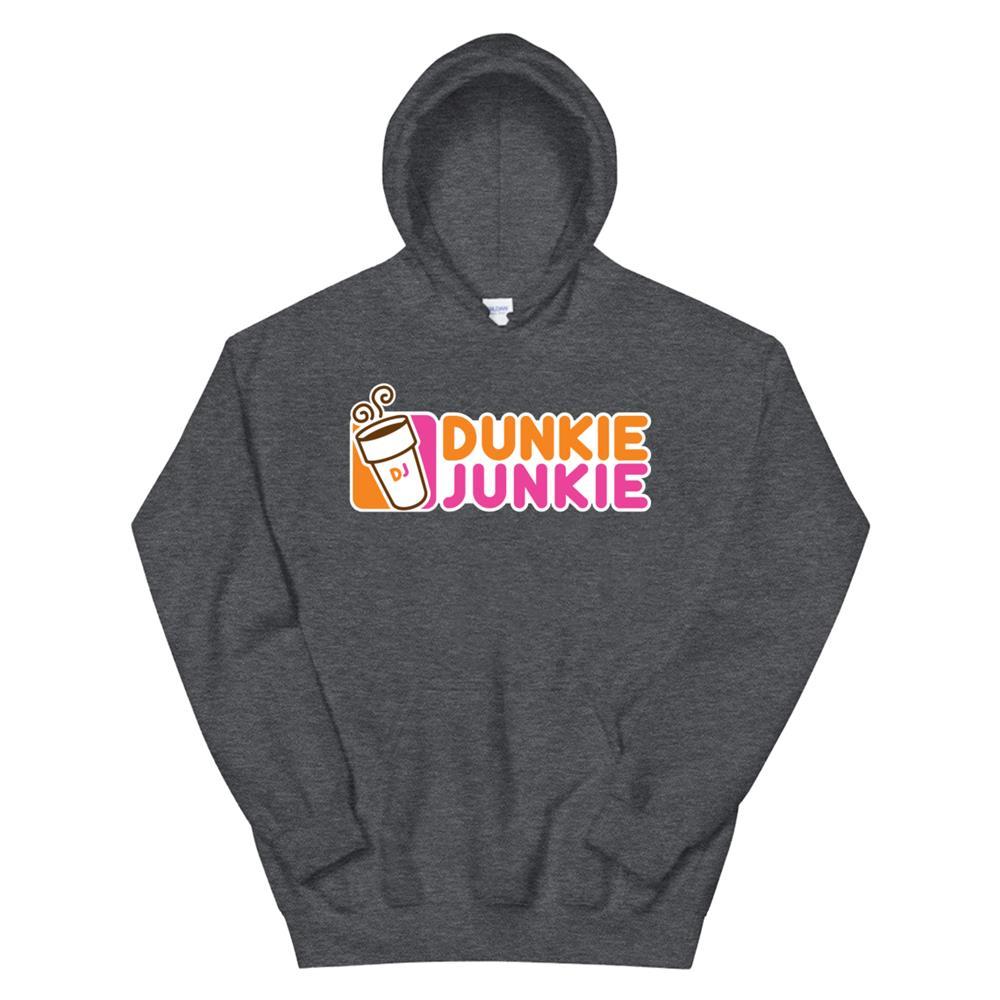 Dunkie Junkie Funny Coffee Lover Hoodie