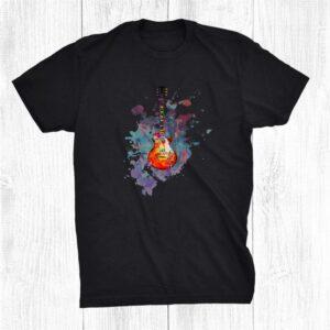 Electric Guitar Band Musician E Guitar Rock Guitarist Shirt