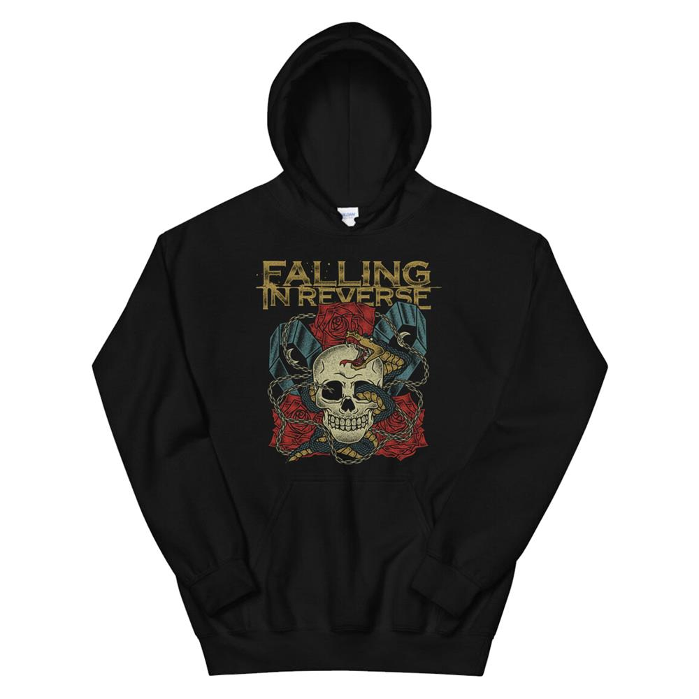 Falling In Reverse Official Merchandise The Death Hoodie