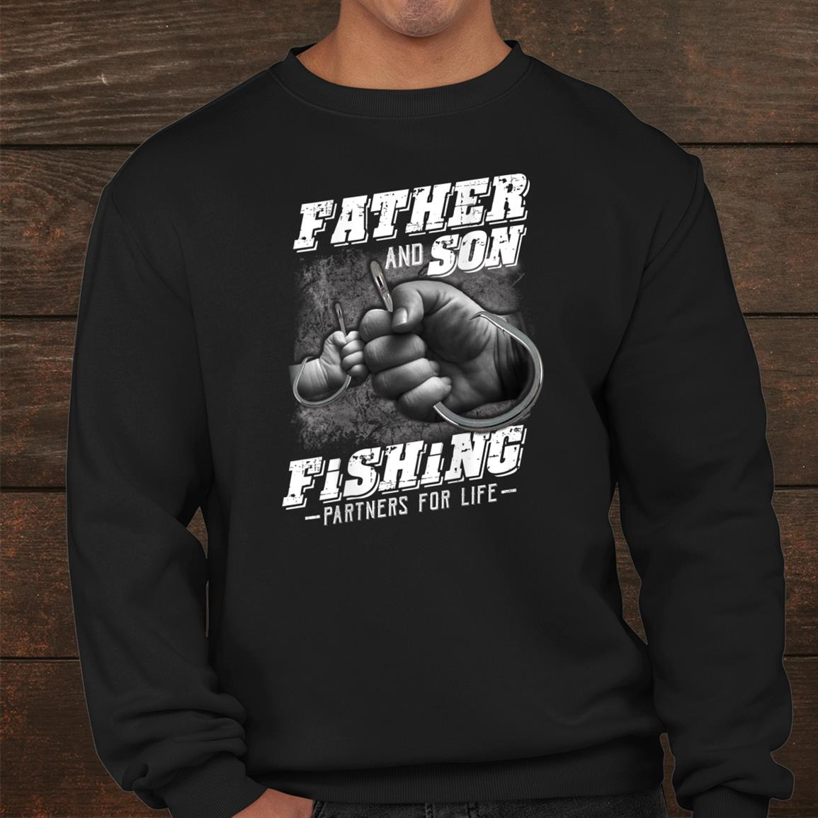 Father And Son Fishing Partner For Life Shirt