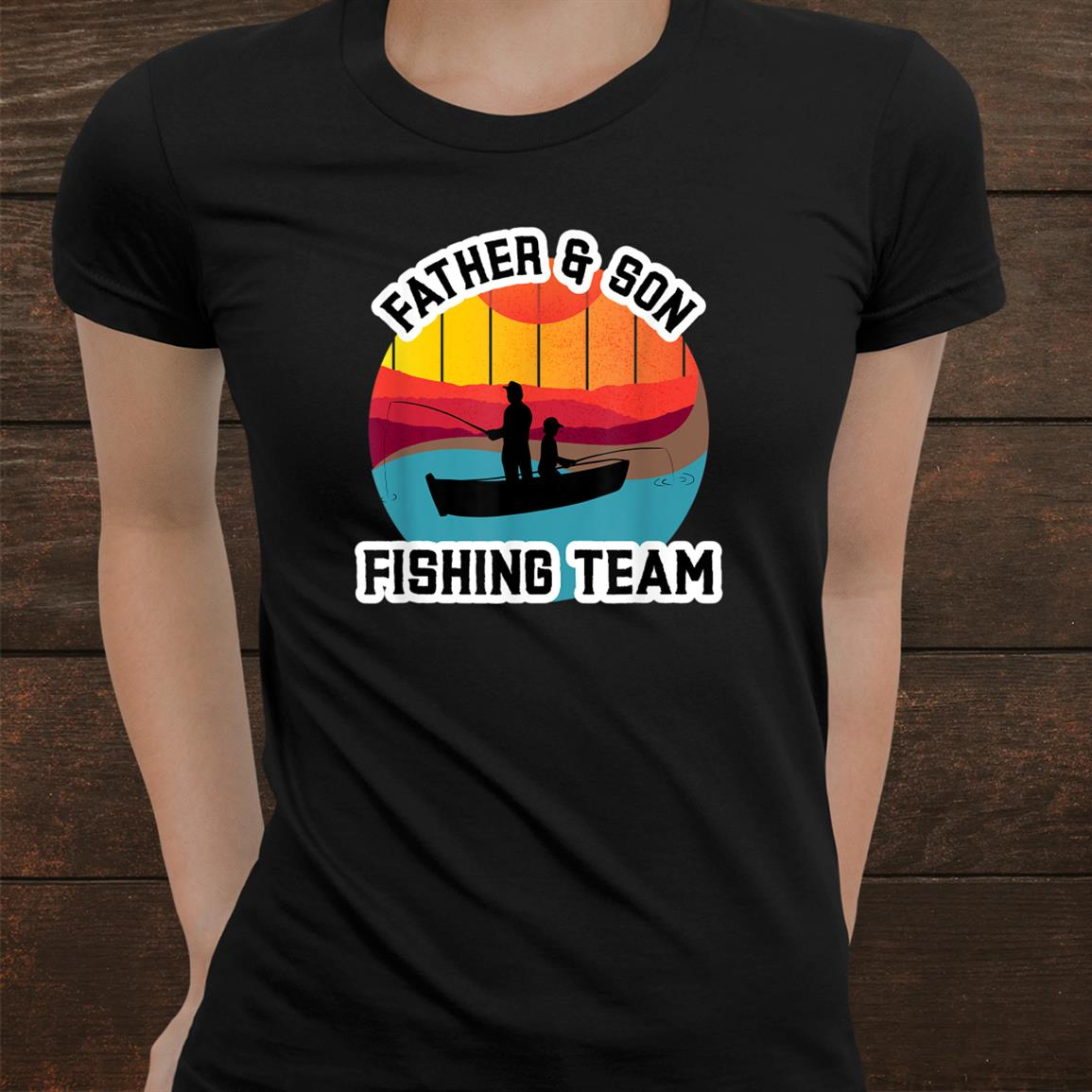 Father And Son Fishing Team Shirt