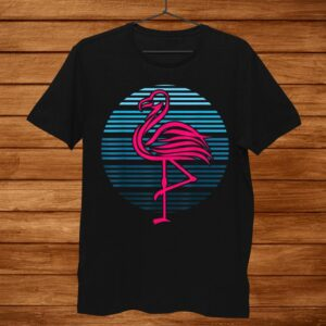 Flamingo Bird0s Party Theme Birthday Shirt