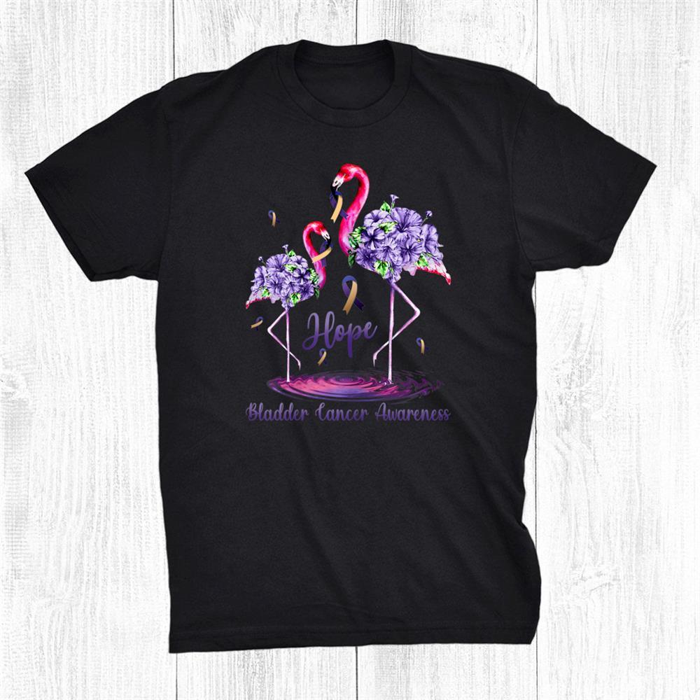 Flamingo Bladder Cancer Awareness Shirt