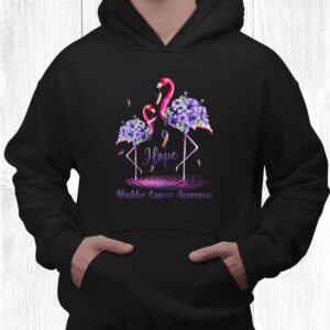 flamingo bladder cancer awareness shirt 3