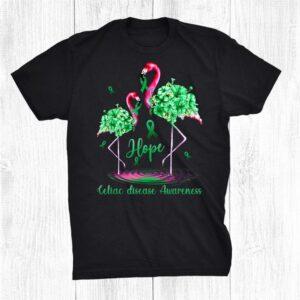 Flamingo Celiac Disease Awareness Shirt