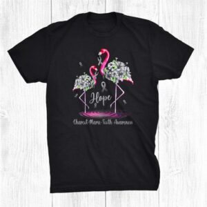 Flamingo Charcot Marie Tooth Awareness Shirt