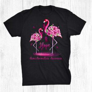 Flamingo Hemochromatosis Awareness Shirt