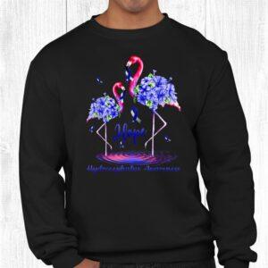 flamingo hydrocephalus awareness shirt 2