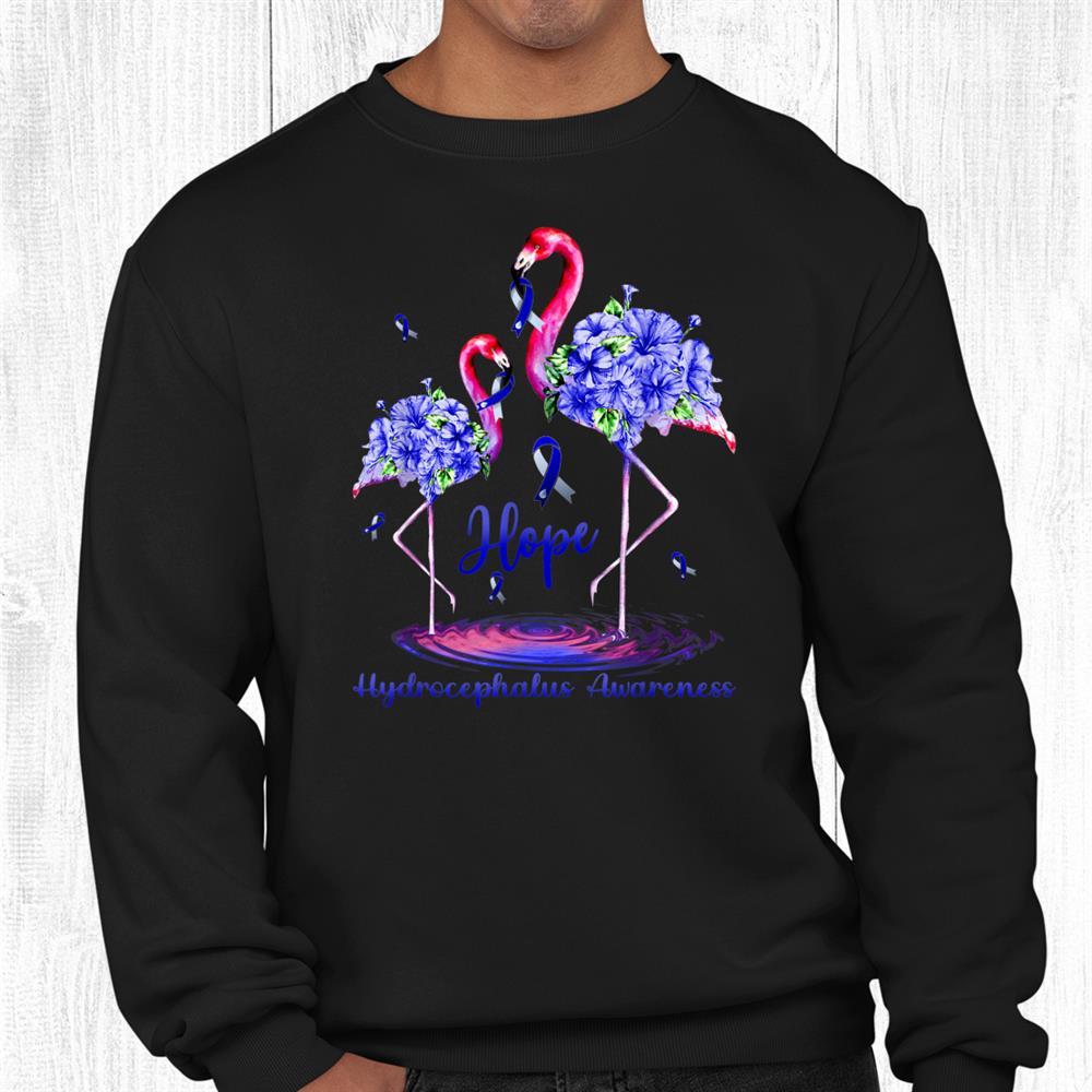 Flamingo Hydrocephalus Awareness Shirt
